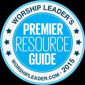 2015 Worship Leader Magazine Editor's Pick Award