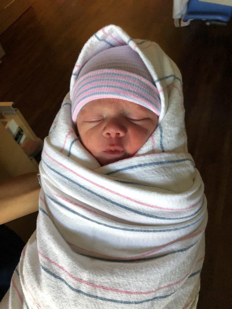 Vincent Carter Cantrell Born